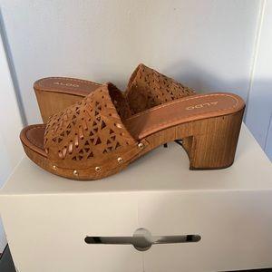 Brand new Aldo heeled sandal